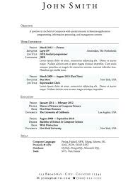 Writing A Resume With No Work Experience Sample Resume For Students