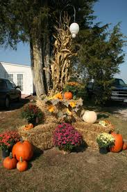 outdoor fall decorations le