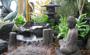 zen garden furniture. Exellent Furniture Amazing Idea Of Japanese Garden Design With Lush Buddist Scupture Also Tall  Crane And Zen Furniture U