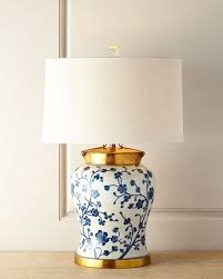 John richard lighting Diy Horchow Johnrichard Collection Blue Dogwood Table Lamp