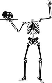 Resultado de imagen de skeleton halloween