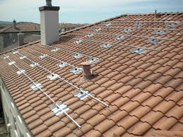Roof penetration after roofing