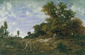 the barbizon school french painters of nature essay heilbrunn the edge of the woods at monts girard fontainebleau fores