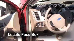 interior fuse box location 2008 2011 ford focus 2009 ford focus 2010 Ford Fusion Fuse Box interior fuse box location 2008 2011 ford focus 2009 ford focus se 2 0l 4 cyl sedan (4 door) 2010 ford fusion fuse box location