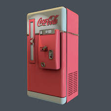 Vintage Coca Cola Vending Machine Awesome Vintage CocaCola Vending Machine On Pantone Canvas Gallery