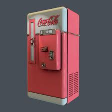 Vintage Coca Cola Vending Machine Awesome Vintage CocaCola Vending Machine On Pantone Canvas Gallery