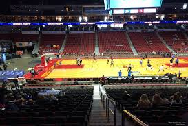 Wells Fargo Arena Des Moines Ia Seating Chart Wells Fargo Arena Des Moines Ia Section 104 Basketball