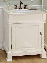 white bathroom vanities. Exellent Bathroom 30 Inch Single Sink Bathroom Vanity In Cream White UVBH205030CR30 Inside  Vanities Decorations 4 To