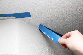 probably the simplest way to paint a straight line on your wall is by using painters tape let s say you want to paint two adjacent walls diffe colors