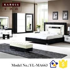contemporary black bedroom furniture. Black Modern Bedroom Furniture Bed Design With White Set Wardrobe Dresser King Designs Contemporary E