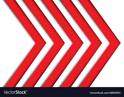 Arrow Pattern Classy Abstract Red Arrow Pattern On White Royalty Free Vector