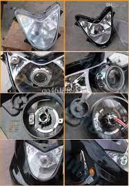 universal motorcycle 35w 2 inch hid bixenon projector lens 5 to connect the hid controller wire the following diagram 6 to install the headlight and motorcycle baffles 7 adjust the projectors by starting