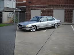 E38 Silver 2000 BMW 740IL