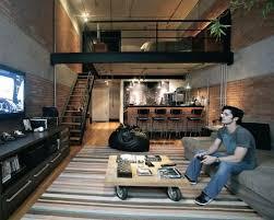 cool bar furniture for lofts. nice loft, cool colors and finishes bar furniture for lofts
