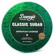 clic sugar moravian cookie gift tin