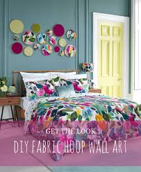 get the look diy fabric hoop wall art on fabric wall art diy with diy fabric hoop wall art tutorial floral abstract watercolour