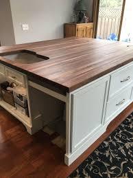 black walnut countertop 44 best butcher block counter tops images on inside plan 22