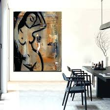 large size printing oil painting sensual movement wall pop art picture for living bedroom sensual wall art  on sensual metal wall art with mind sensual metal wall art for bedroom testyd