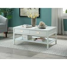peggy white coffee table