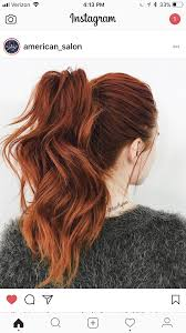 Red Head Copper Red Orange Hair