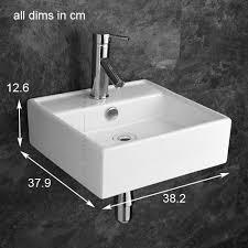 tivoli ceramic bathroom basin sink