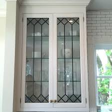 stained and leaded glass studio restoration with regard to cabinet leaded glass cabinet doors vintage leaded