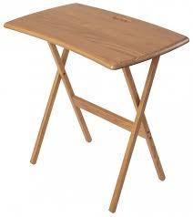 home portable folding work and laptop desk finish golden oak