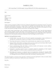 Cover Letter For Cpa Best Accountant Cover Letter Examples