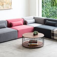 gus modern mix modular sectional sofa  gr shop canada