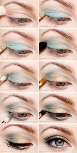 turquoise eyeshadow