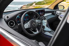 Cargo volume to seat 2 (ft³) 17.4: 2020 Mercedes Benz Glc Class Coupe Review Trims Specs Price New Interior Features Exterior Design And Specifications Carbuzz