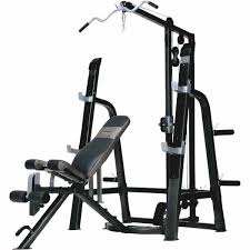 Olympic Weight Bench With Squat RackMarcy Platinum Bench