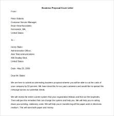 free download business proposal cover letter template free template cover letter