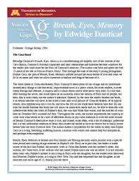 review of breath eyes memory by edwidge danticat view file review breath eyes memory pdf