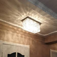 hallway ceiling lights. Led Lamp Ceiling Modern Lights Hallway Crystal Rectangle Lustres-in From A