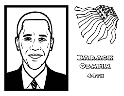 Small Picture Barack Obama Coloring Page