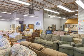 reused furniture donation warehouse