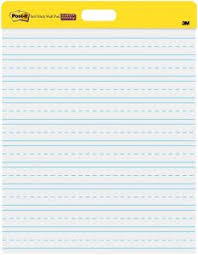 Post It Super Sticky Wall Easel Pad 20 X 23 Inches 20 Sheets Pad 2 Pads 566prl Portable White Primary Ruled Premium Self Stick Flip Chart Paper