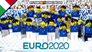 Italy winner Euro 2020 in Lego Football stop-motion • Italia Campione  d'Europa Euro 2020 - EUCUP.COM