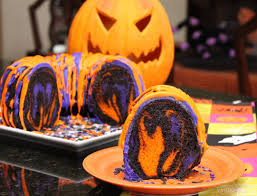 Halloween Bundt Cake Decorations Famous Halloween Rainbow Party Cake Recipes And Ideas For Simple