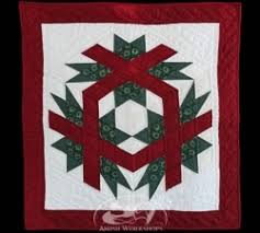 Amish Quilted Wall Hangings & Christmas Cube Wall Hanging Adamdwight.com