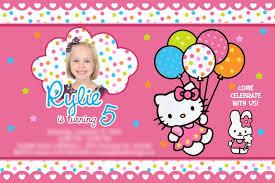 how to make hello kitty birthday invitations template hello kitty birthday invitations