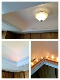 Kitchen fluorescent lighting ideas Lowes Great Idea For Updating The Ugly Fluorescent Light Box Without Dropping The Ceiling Pinterest Great Idea For Updating The Ugly Fluorescent Light Box Without