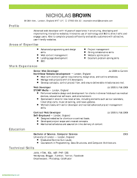 Wordpad Resume Template Download New Simple Free Resume Template