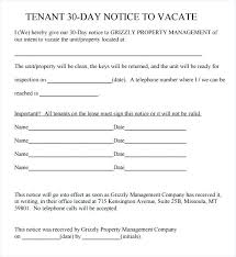 Free Printable 30 Day Eviction Notice Template Day Notice To Terminate Tenancy Eviction Letter Free
