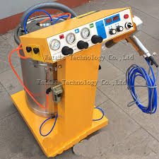 free electrostatic powder coating machine electrostatic spray powder coating machine spraying paint