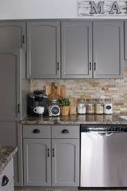 Painted Kitchen Cabinets 17 Best Ideas About Gray Kitchen Cabinets On Pinterest Grey