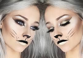 glitter cat makeup inspiration