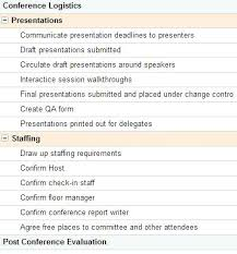 Conference Plan Template Together With 5 Event Timeline Templates ...