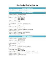46 Effective Meeting Agenda Templates - Template Lab